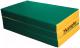 Гимнастический мат Kampfer №6 150x100x10см (зеленый/желтый) -