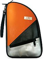 Чехол для ракетки Double Fish R 02 (оранжевый) -