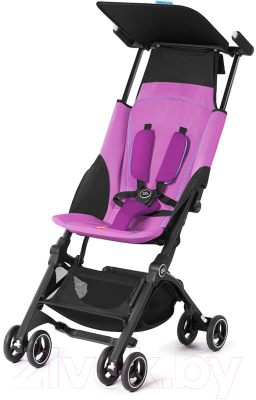 Детская прогулочная коляска GB Pockit+ (Posh Pink)