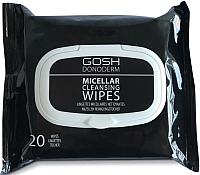 Салфетки для снятия макияжа GOSH Copenhagen Donoderm Micellar Cleansing Wipes -
