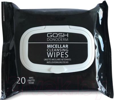 помада gosh gosh go025lwcjyp2 Салфетки для снятия макияжа GOSH Copenhagen Donoderm Micellar Cleansing Wipes