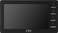 Видеодомофон CTV M1701MD (черный) -