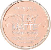 Пудра компактная Rimmel Stay Matte Pressed Powder тон 002 (14г) -