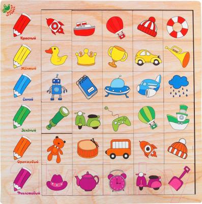 Развивающая игра Мастер игрушек Ассоциации: Цвета / IG0188