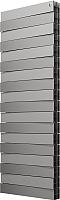 Радиатор биметаллический Royal Thermo PianoForte Tower 500 Silver Satin (18 секций) -