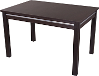 Обеденный стол Домотека Твист 70x110-147 (венге/08) -
