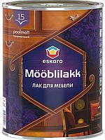 Лак Eskaro Mooblilakk 15 (900мл) -