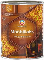 Лак Eskaro Mooblilakk 40 (900мл) -