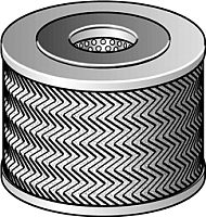 Топливный фильтр Purflux C443 -