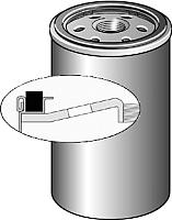 Топливный фильтр Purflux CS170 -
