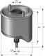 Топливный фильтр Purflux CS762 -
