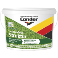 Краска CONDOR Fassadenfarbe Struktur 0.2-0.5 (7.5кг) -