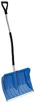 Лопата для уборки снега Prosperplast Alpinus Alutube Ergo / IL3TBE-B333 (синий) -