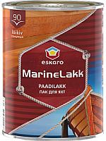 Лак яхтный Eskaro Marine Lakk 90 (950мл, глянцевый) -