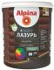 Лазурь для древесины Alpina Аква (900мл, рябина) -