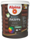 Лазурь для древесины Alpina Аква (900мл, кедр) -