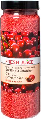 Соль для ванны Fresh Juice Вишня и Гранат