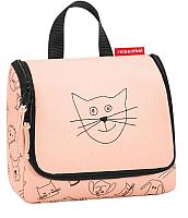 Органайзер для хранения Reisenthel Toiletbag S / IO3064 (cats and dogs rose) -