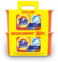 Капсулы для стирки Tide Color 2X (30x24.8г) -