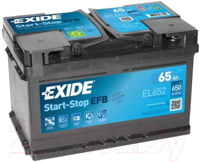 Автомобильный аккумулятор Exide EFB EL652