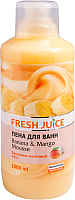 Пена для ванны Fresh Juice Бананово-манговый мусс (1л) -