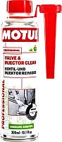 Присадка Motul Valve and injector clean / 108123 (300мл) -