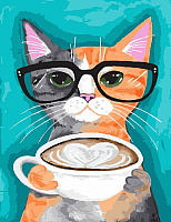 Картина по номерам Picasso Позитивный кот (PC4050455) -