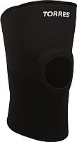 Суппорт колена Torres PRL6004XL (XL, черный) -
