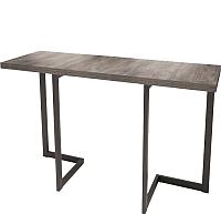 Обеденный стол Millwood Арлен 1 38-76x110x75 (сосна пасадена/металл черный) -