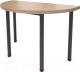 Обеденный стол Millwood Далис 2 (дуб табачный Craft/металл черный) -
