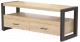 Тумба Millwood Neo Loft TVS-1/L (дуб золотой Craft/металл черный) -
