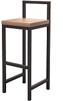 Стул барный Millwood Крам/L СДН-6 (дуб табачный Craft/металл черный) -