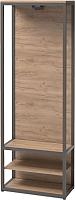 Вешалка для одежды Millwood Neo Loft ML-1/L (дуб табачный Craft/металл черный) -