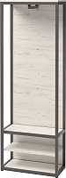 Вешалка для одежды Millwood Neo Loft ML-1/L (дуб белый Craft/металл черный) -