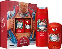 Набор косметики для тела Old Spice Wolfthorn дезодорант твердый 50мл + гель для душа 250мл -
