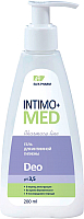 Гель для интимной гигиены Elfa Pharm Intimo+ Med Deo для интимной гигиены (200мл) -