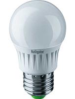 Лампа Navigator NLL-G45-7-230-2.7K-E27 -