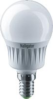 Лампа Navigator NLL-G45-7-230-2.7K-E14 -