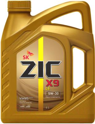 Моторное масло ZIC X9 LS 5W30 / 162608 (4л)