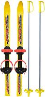 Комплект беговых лыж Цикл Вираж-Спорт (100/100см) -