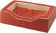 Лежанка для животных Ferplast Majestic 110 / 81026022 (красный) -