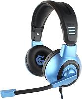 Наушники-гарнитура Gembird MHS-G55 (черный/синий) -