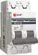 Выключатель автоматический EKF ВА 47-63 2Р 5А (C) PROxima / mcb4763-2-05C-pro -