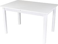 Обеденный стол Домотека Танго ПР 70x110-147 (белый/белый/04) -