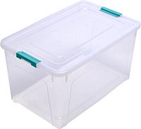 Контейнер Алеана Smart Box 123084 (бирюзовый/прозрачный) -