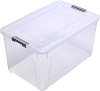 Контейнер Алеана Smart Box 123085 (серый/прозрачный) -