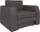 Кресло-кровать Mebelico Атланта 13 / 58738 (экокожа, коричневый) -