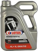 Моторное масло Lotos Semisyntetic SL/CF SAE 10W40 Thermal Control (4+1л) -