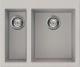 Мойка кухонная Elleci Quadra 150 Aluminium M79 / LMQ15079 -