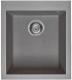 Мойка кухонная Elleci Quadra 100 Cemento G48 / LGQ10048 -